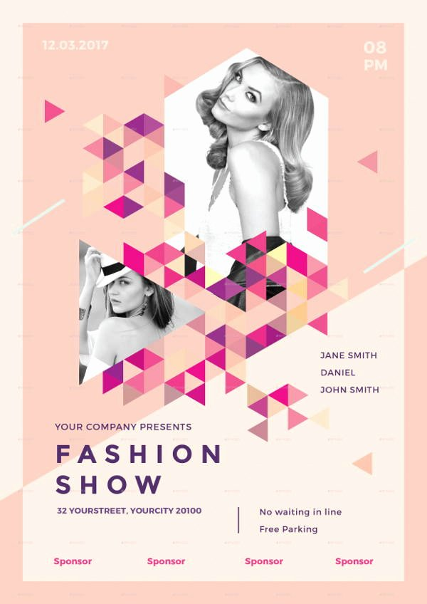 Fashion Show Flyer Template Free Best Of 16 Fashion Show Flyer Templates In Word Psd Ai Eps