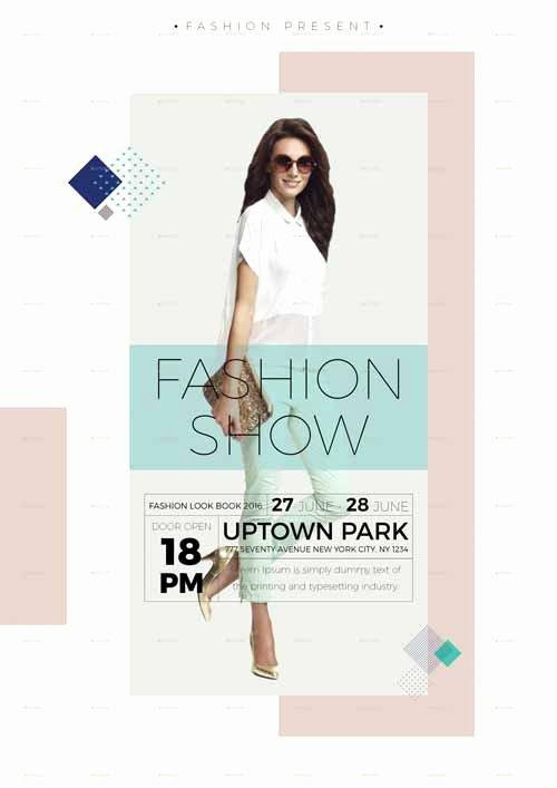 Fashion Show Flyer Template Free Inspirational Ffflyer
