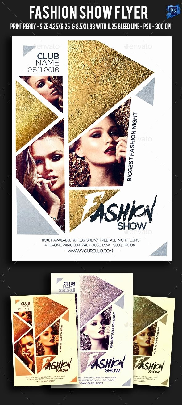 Fashion Show Flyer Template Free Lovely 1000 Ideas About Poster Presentation Template On