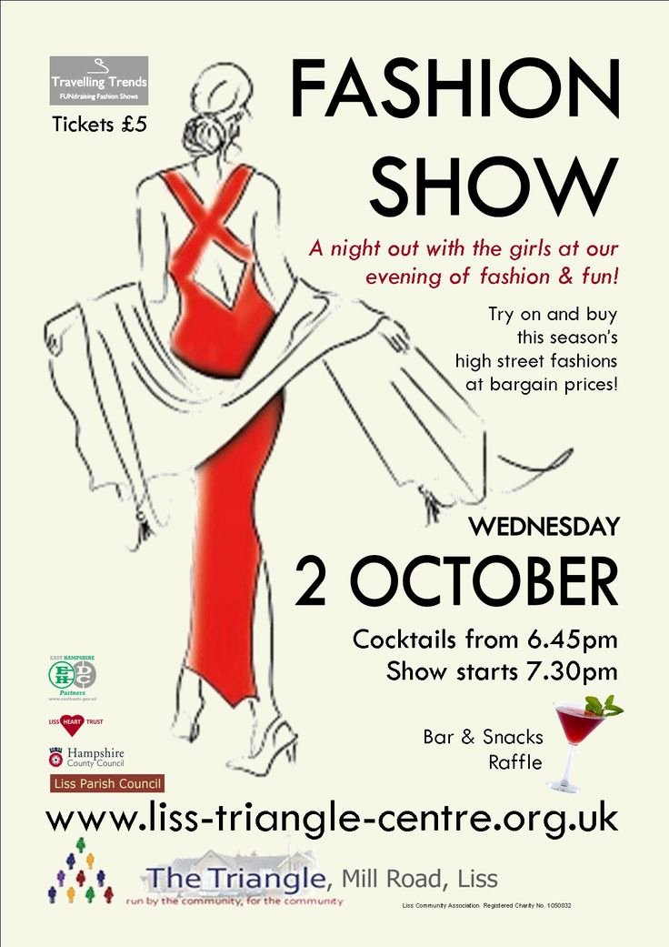 Fashion Show Flyer Template Free Luxury 10 Best Poster Inspiration Images On Pinterest