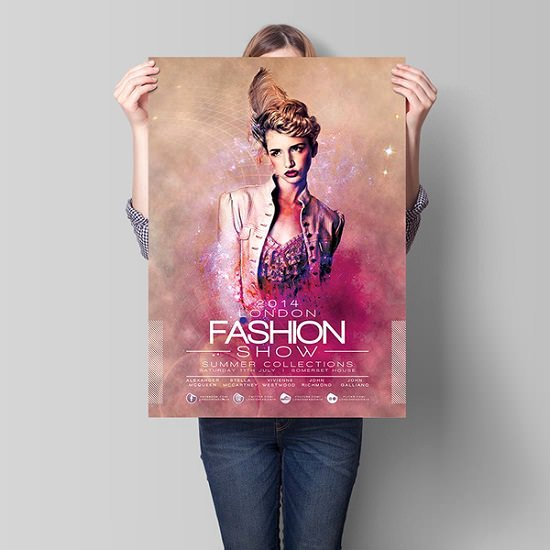 Fashion Show Flyer Template Fresh London Fashion Show Flyer Template Download