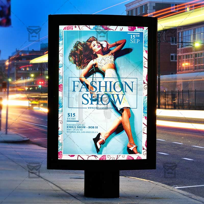 Fashion Show Flyer Template Lovely Fashion Show – Premium Flyer Template Instagram Size