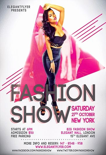 Fashion Show Flyer Template Lovely Free Psd Flyer Templates for Shop by Elegantflyer