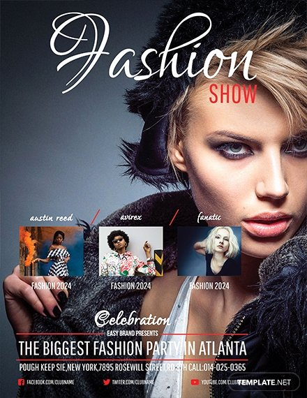 Fashion Show Flyer Template Unique Free Talent Show Flyer Template Download 641 Flyers In