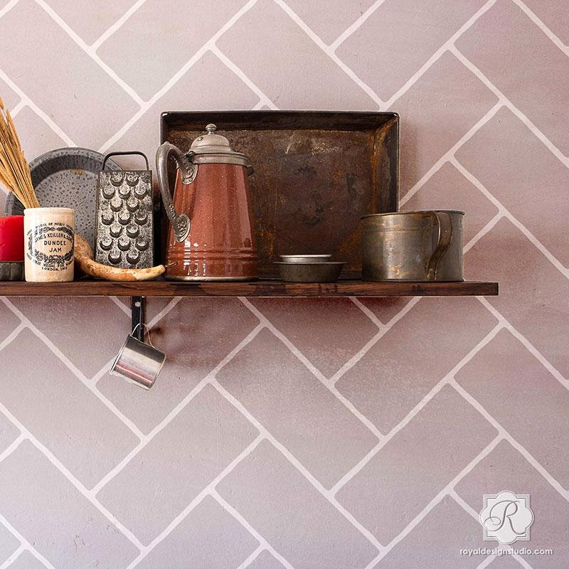 Faux Brick Stencil Best Of Wall Pattern Stencils