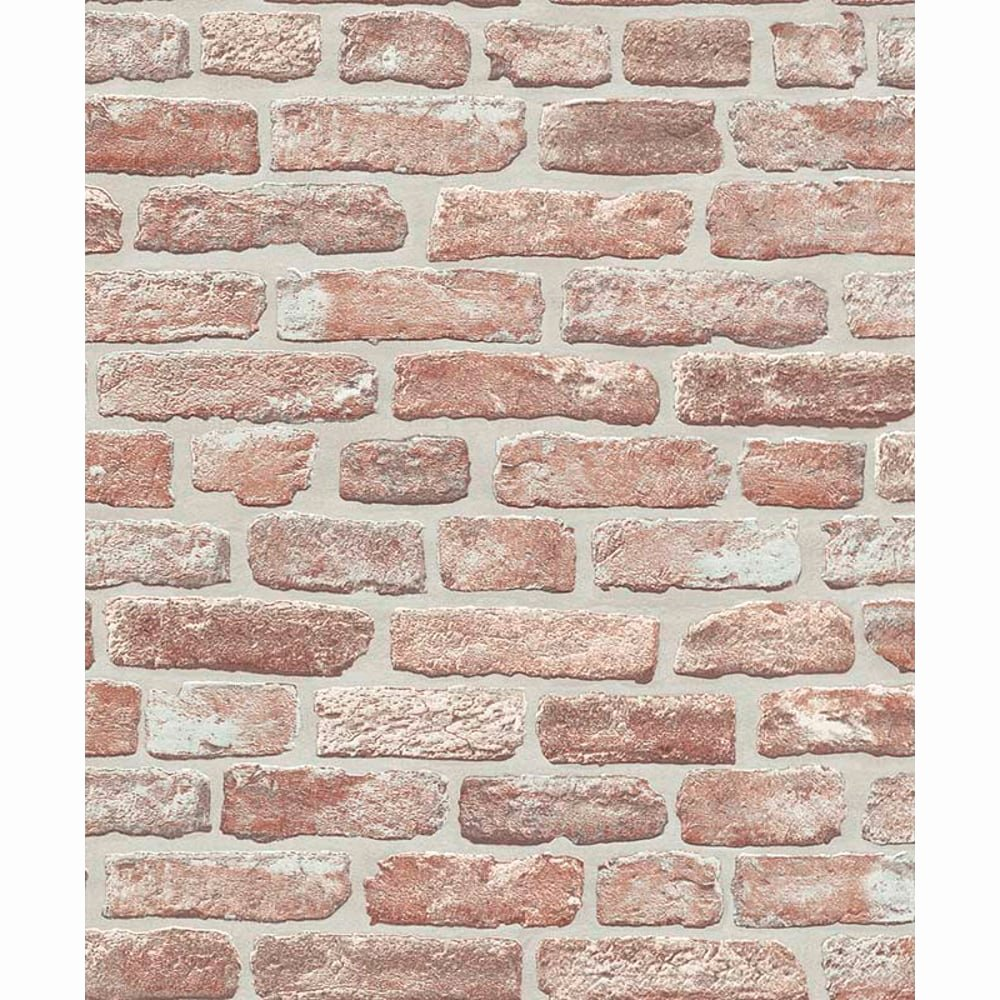Faux Brick Stencil Elegant Erismann House Brick Pattern Wallpaper Faux Effect
