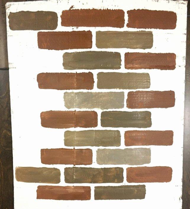 Faux Brick Stencil Fresh How to Diy A Faux Brick Wall the Easy Way Dream Design Diy