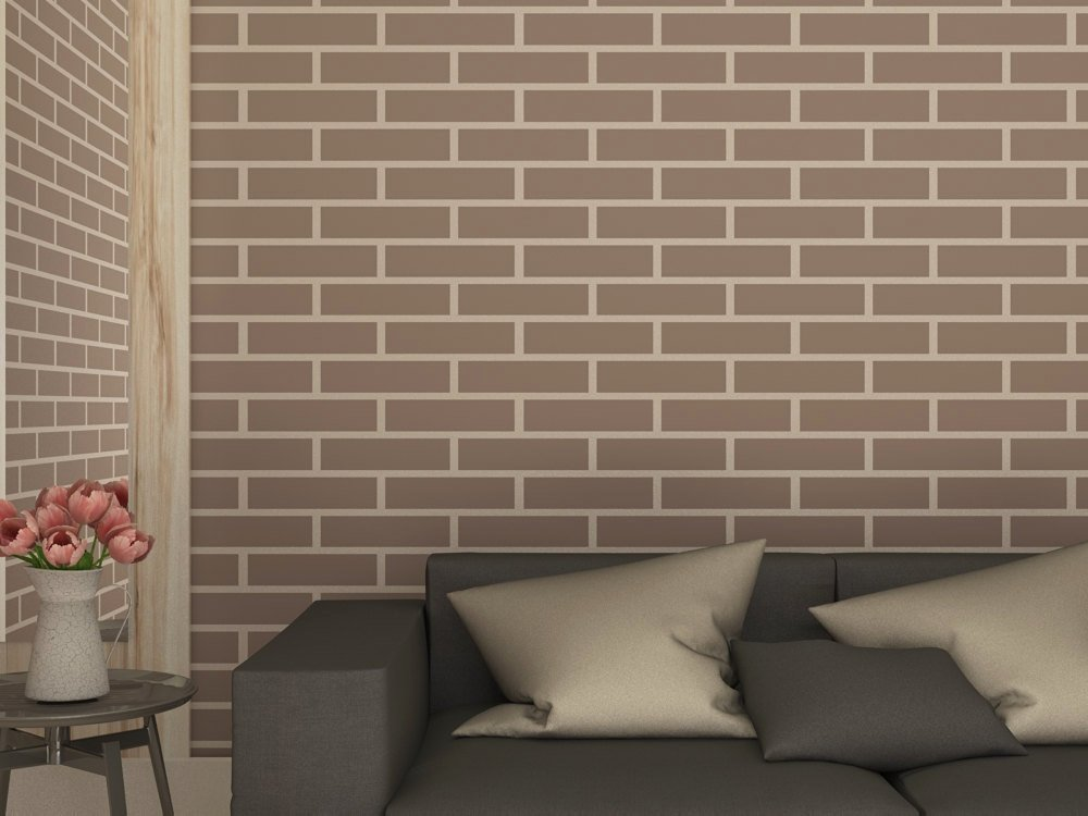 Faux Brick Stencil Lovely Brick Wall Imitation Stencil Faux Brick Wall by Stencilslabny