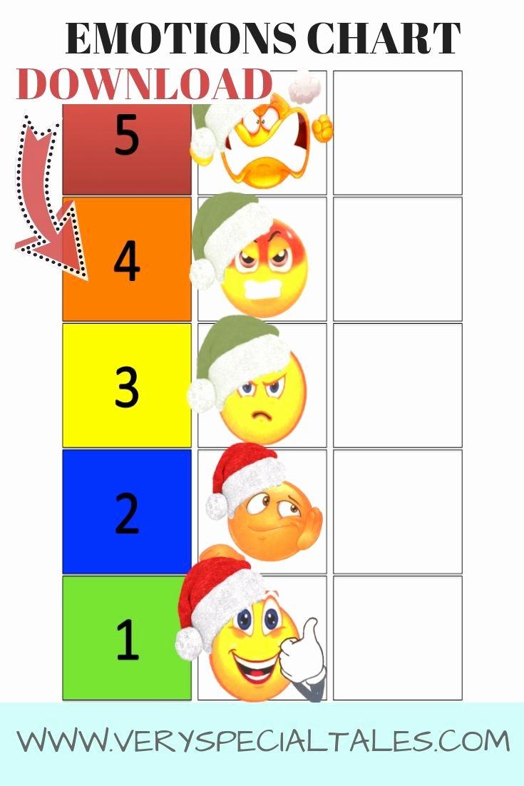 Feelings thermometer Printable Lovely Emotions Chart How to Use A Feelings thermometer