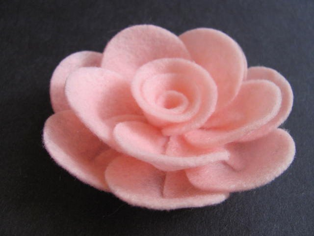 Felt Rose Pattern Beautiful Felt Rose Pattern Penny Rose No Sew Felt Flower Tutorial