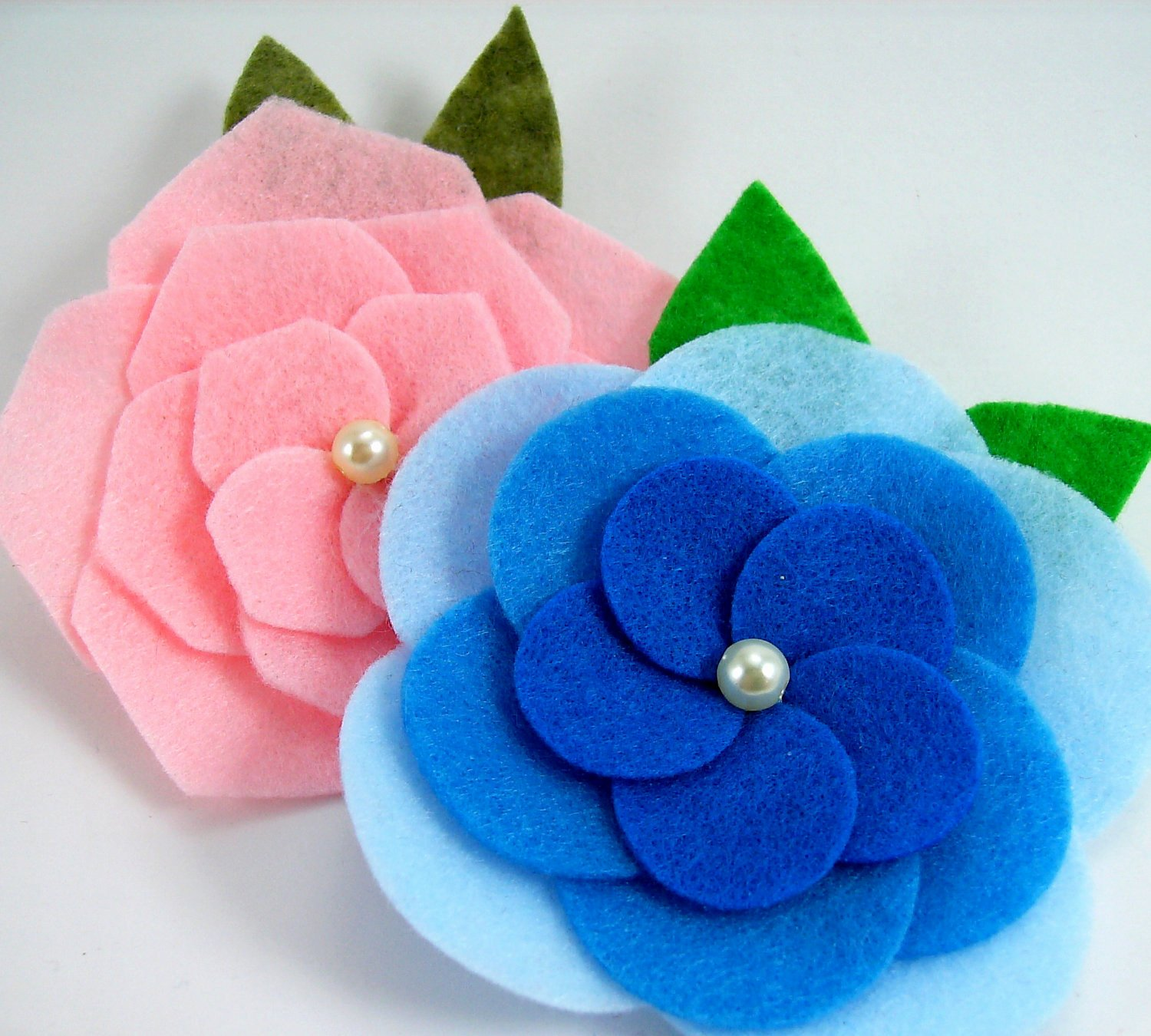 Felt Rose Pattern Elegant Felt Cabbage Roses Pdf Tutorial No Sewing Machine Required