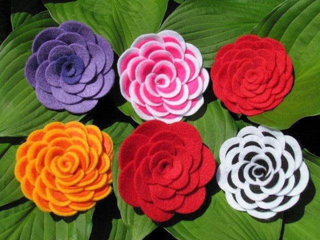 Felt Rose Pattern Elegant Felt Rose Pattern Abbey Rose Felt Flower Tutorial