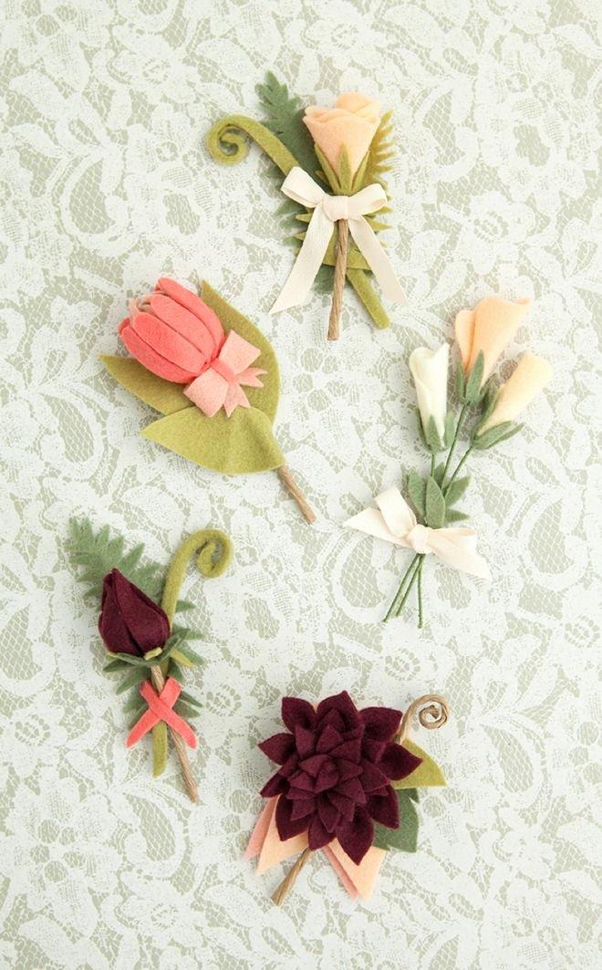 Felt Rose Pattern Fresh Best 25 Felt Flower Bouquet Ideas On Pinterest