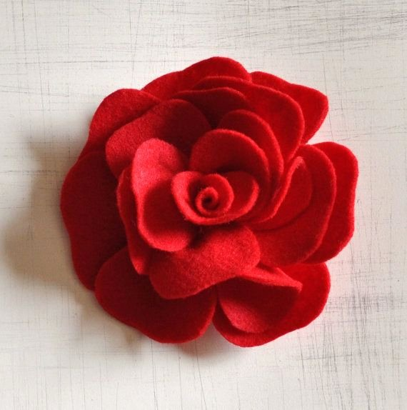 Felt Rose Pattern New E Pattern Rose Felt Pdf Pattern Tutorial How to Epattern