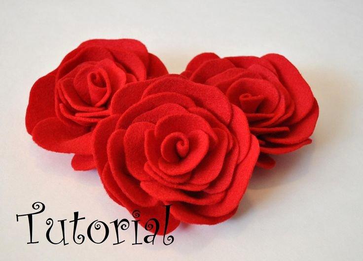Felt Rose Pattern Unique 17 Best Ideas About Felt Flowers Patterns On Pinterest