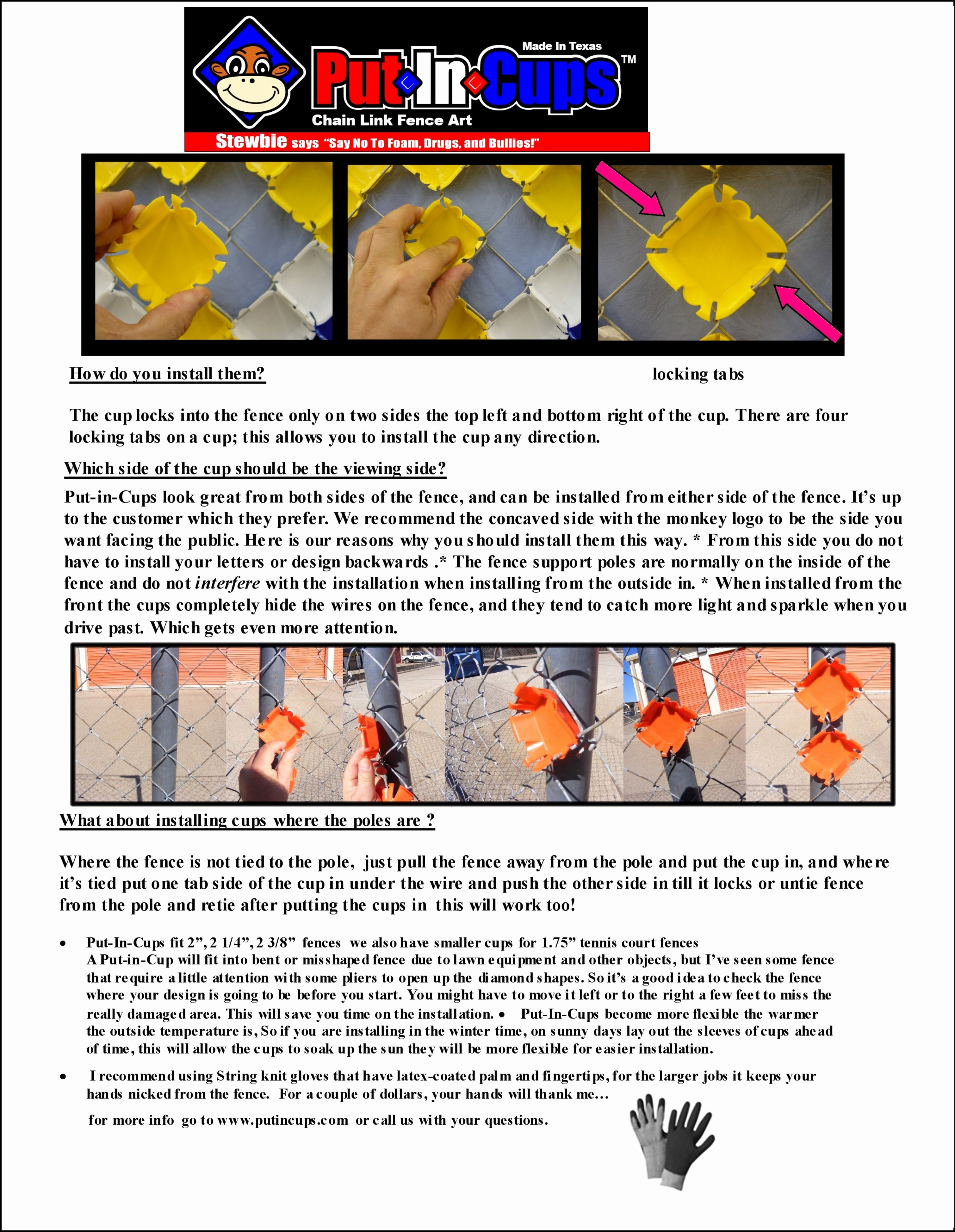Fence Cup Design Template Elegant Instructions 101