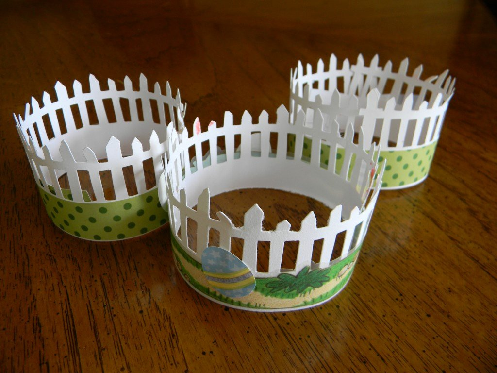 Fence Cup Design Template Lovely Picket Fence Cupcake Decorations Joyful Daisy