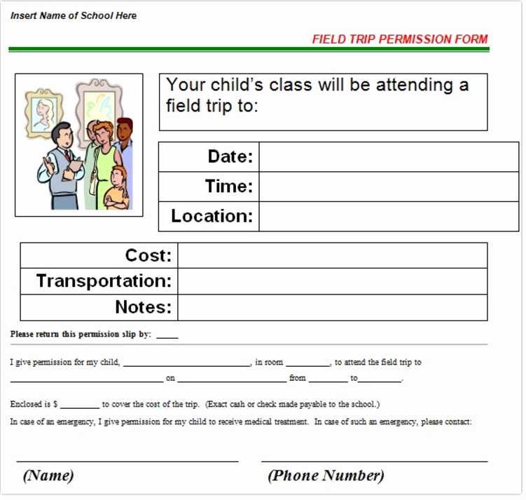 Field Trip Letter Template Beautiful Need to Create A Permission Slip or Field Trip Letter Try