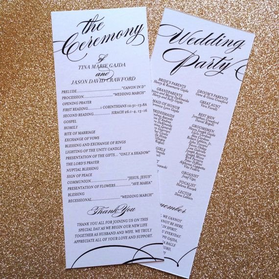 Filipino Catholic Wedding Program Awesome Best 25 Catholic Wedding Programs Ideas On Pinterest