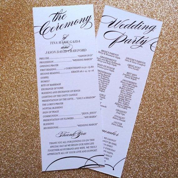 Filipino Catholic Wedding Program Awesome Best 25 Catholic Wedding Programs Ideas On Pinterest