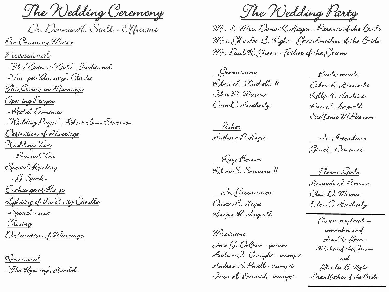 Filipino Catholic Wedding Program Luxury Creative Wedding Programs