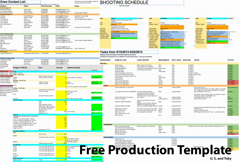 Film Schedule Template Best Of Getting Chaplin's Crew to Her – In A World Of