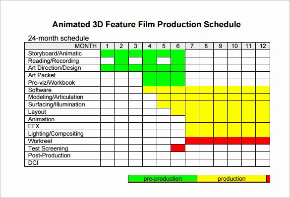 Film Schedule Template Inspirational Shooting Schedule Template 11 Free Word Excel
