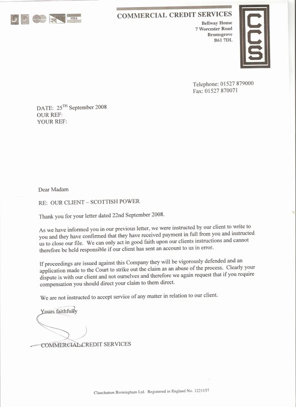 Final Notice Collection Letter Beautiful Best S Of Collection Letter before Legal Action