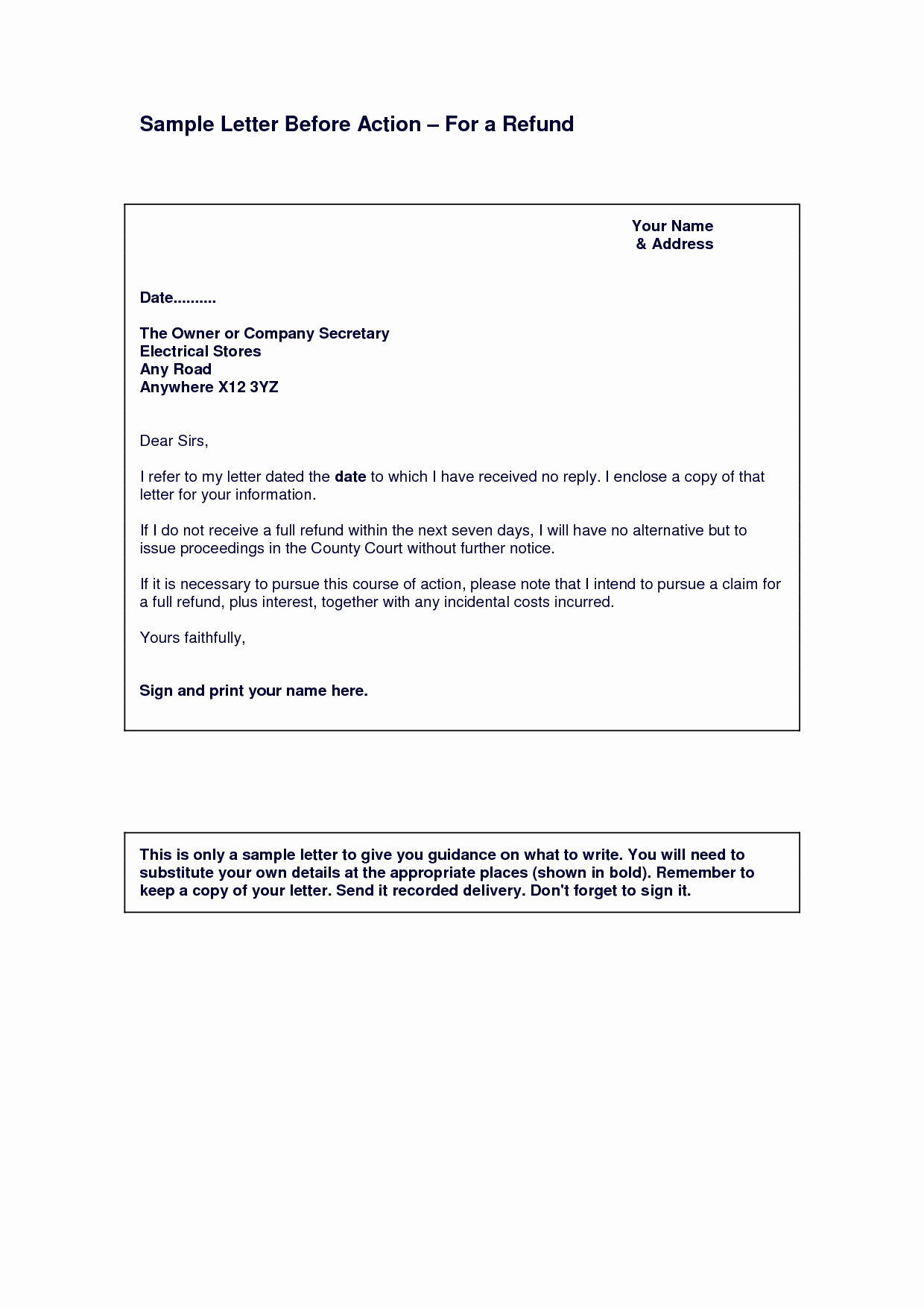 Final Notice Letter before Legal Action Luxury Best S Of Collection Letter before Legal Action