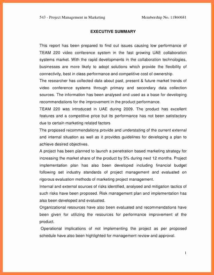 Final Project Report Sample Best Of 7 Project Management Final Report Template