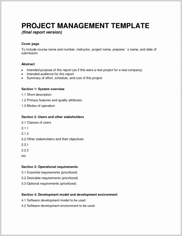 Final Project Report Sample New 9 Sample Project Pletion Reports Pdf Excel Word