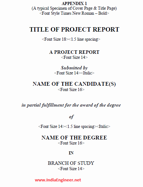 Final Project Report Sample Unique Anna University Final Year B E B Tech Engineering Project