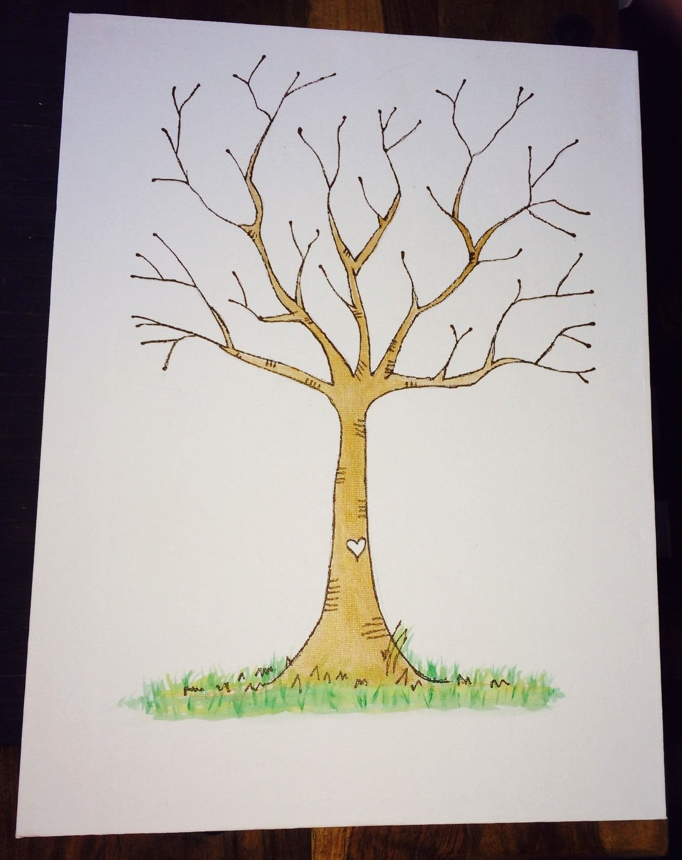 Fingerprint Trees Templates Beautiful Pin by Daniella King Day On Kids An Baby S