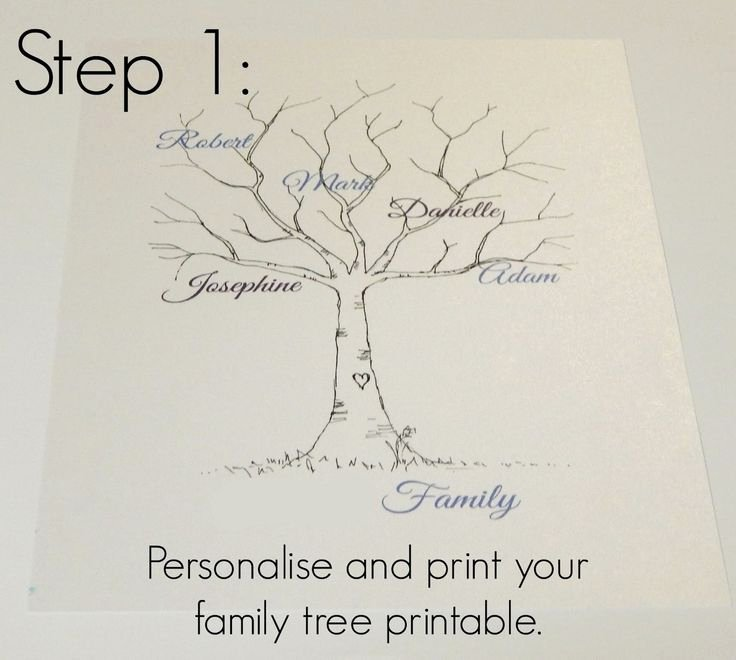 Fingerprint Trees Templates Inspirational Best 25 Family Tree Templates Ideas On Pinterest