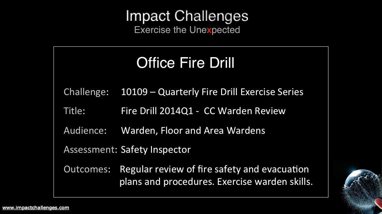 Fire Drill Report Sample Fresh Fire Drill Safety Training Exercise