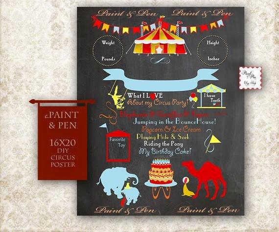 First Birthday Chalkboard Diy Luxury Items Similar to Diy Birthday Banner Diy Birthday