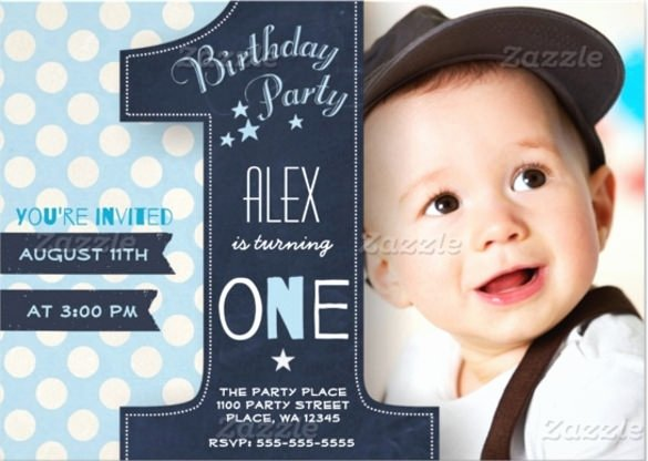 First Birthday Invitation Template Free Beautiful 1st Birthday Invitations Boy Templates Free Cobypic