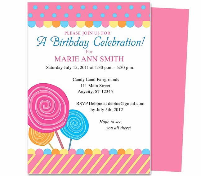 First Birthday Invitation Template Free Elegant Pin Oleh Paulene Carla Di Party Invitations