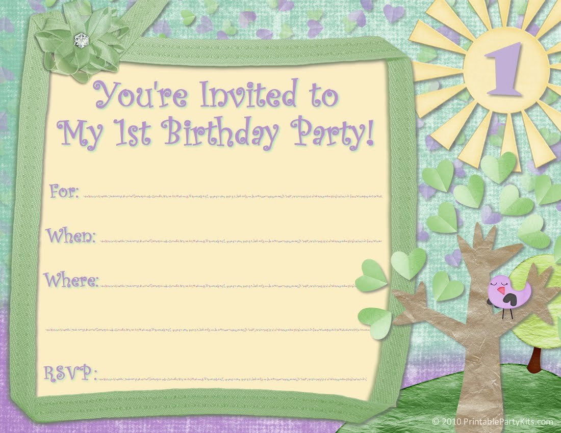 First Birthday Invitation Template Free Luxury Free Printable First Birthday Invitations for Boy