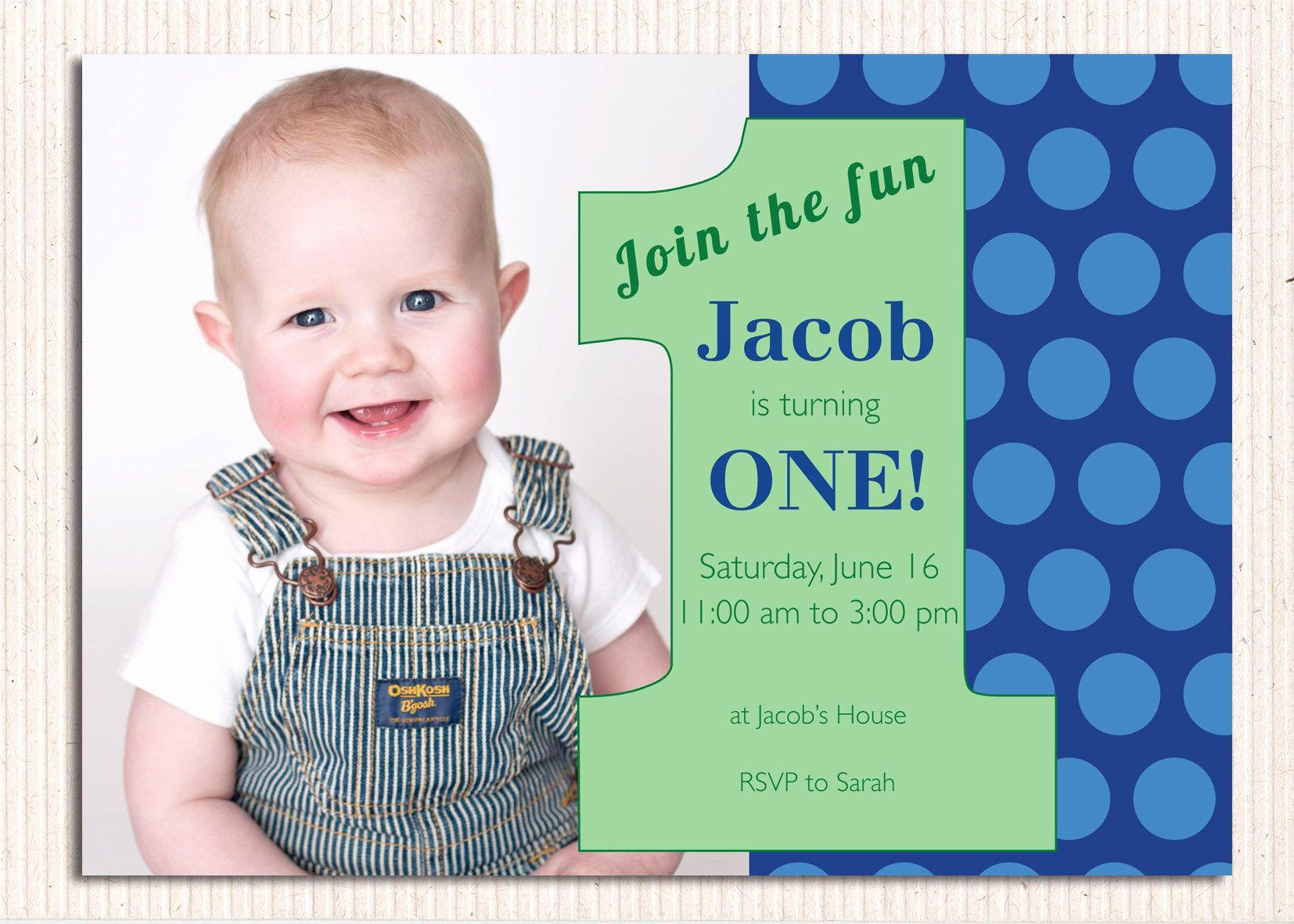 First Birthday Invitation Template Free New 16 Best First Birthday Invites – Printable Sample