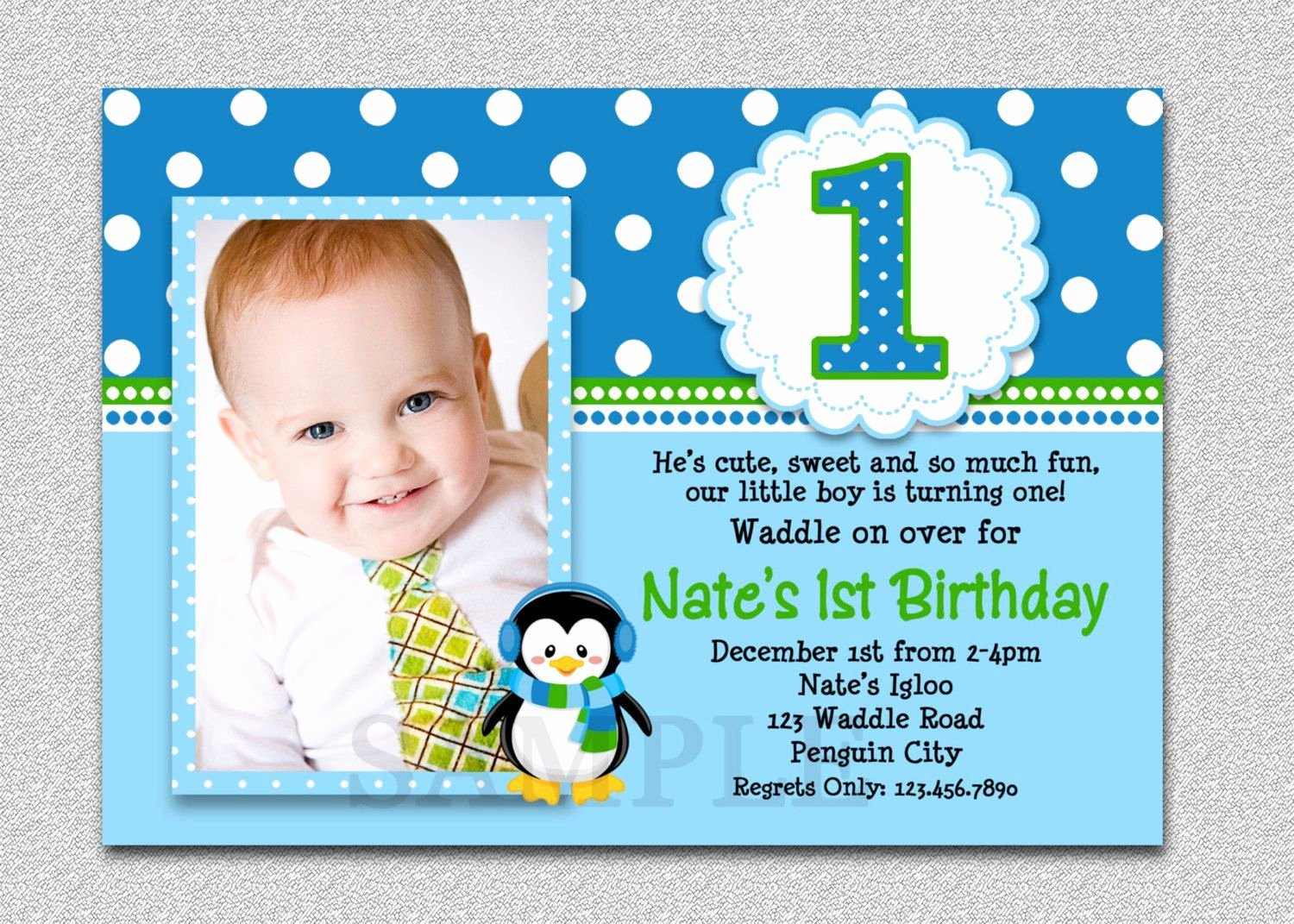 First Birthday Invitation Template Free Unique 1st Birthday and Baptism Bined Invitations