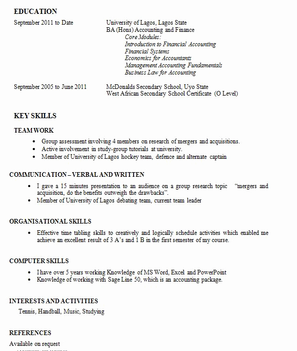 First Job Experience Essay Unique the Krine Writing A Cv when You Have Zero Work Experience