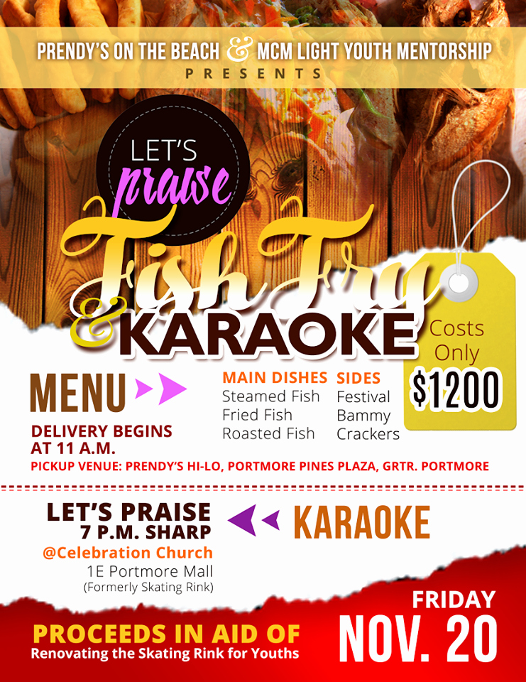 Fish Fry Flyer Template Elegant Church Fish Fry Flyer Entown Posters