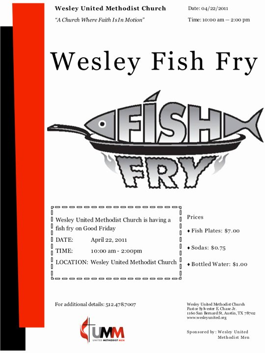 Fish Fry Flyer Template Inspirational Other Printable Gallery Category Page 247