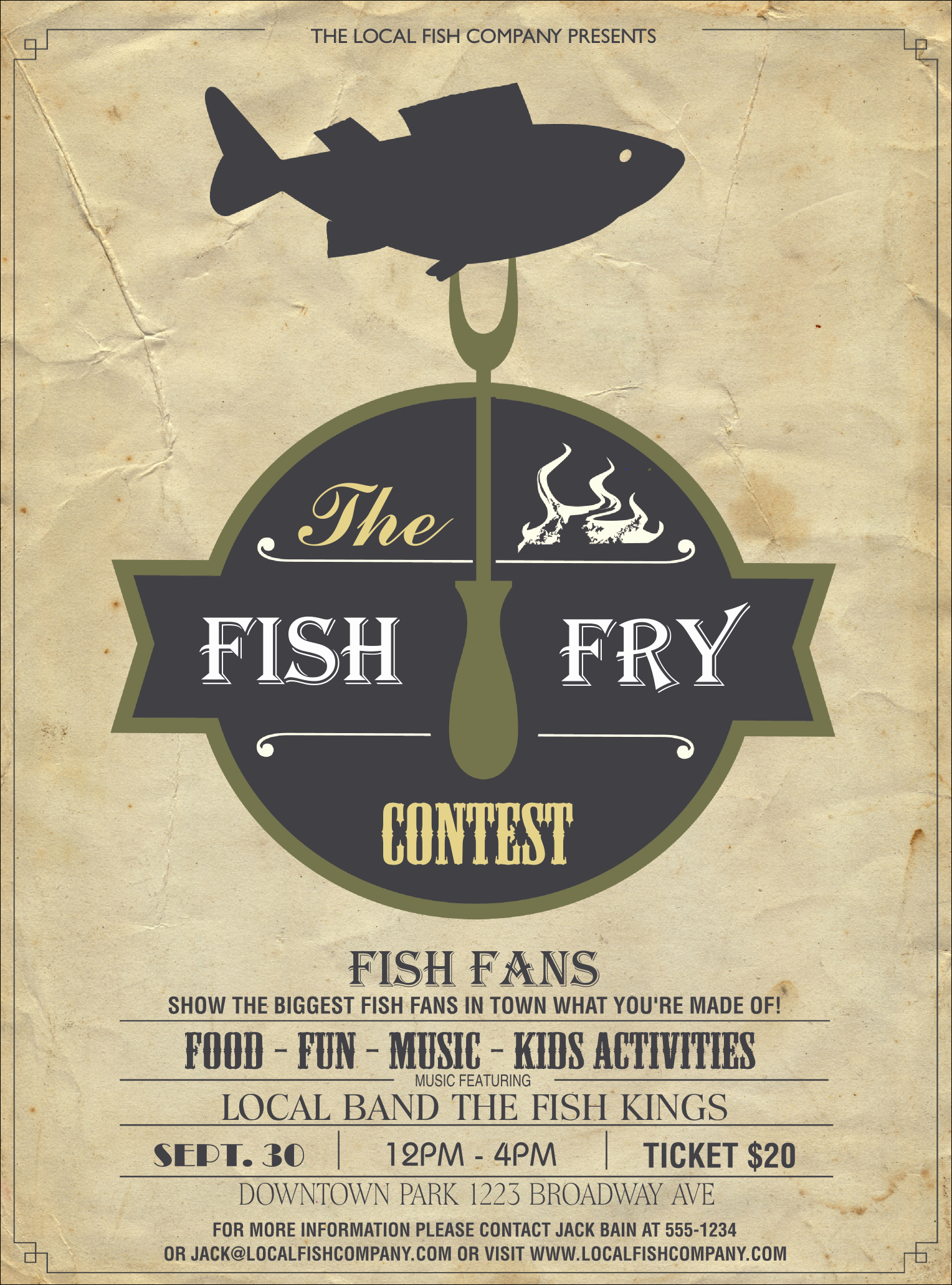 Fish Fry Flyer Template Luxury Fish Fry Flyer