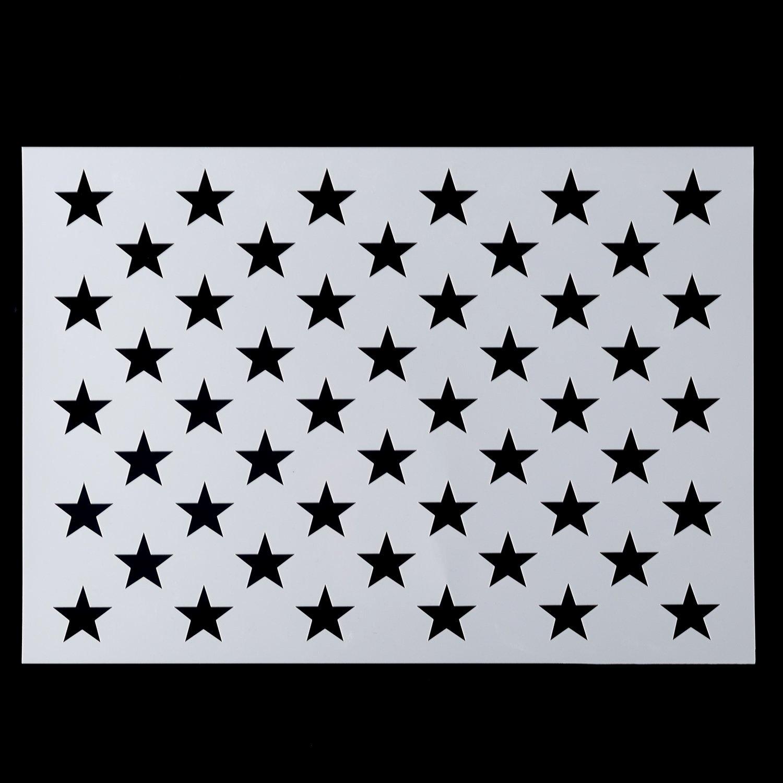 Flag Star Stencil Best Of Best Rated In Stencils & Templates & Helpful Customer