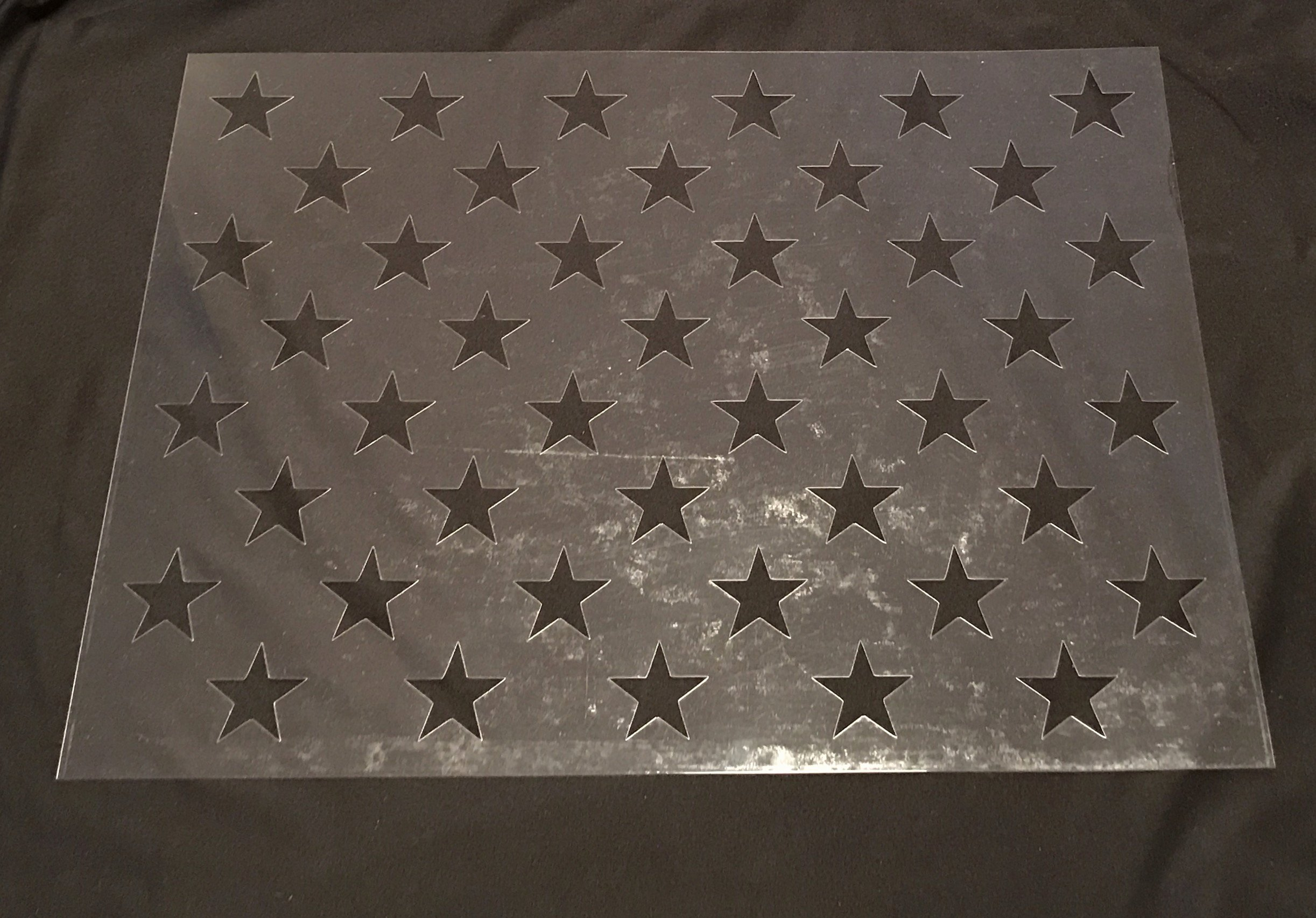 Flag Star Stencil Best Of Small 50 Star Stencil the Furrminator