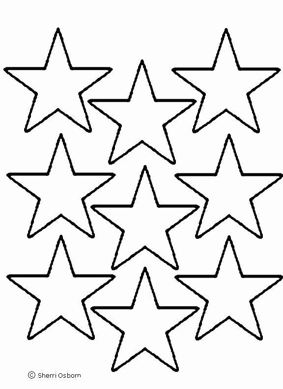 Flag Star Stencil Elegant Star Template Printable Cliparts