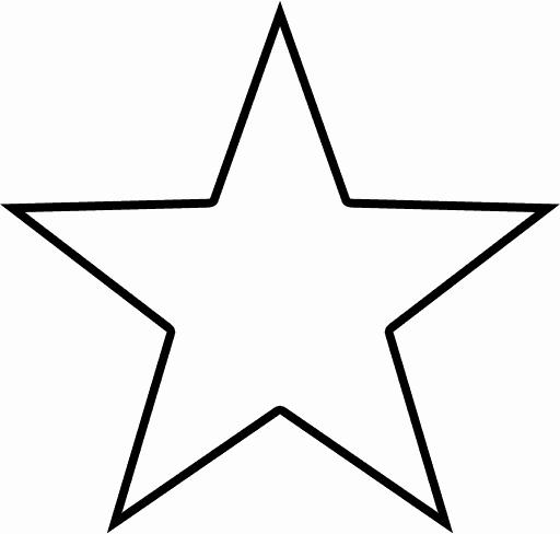 Flag Star Stencil Fresh Texas Star Outline Star Outline Shape