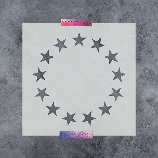 Flag Star Stencil Luxury 50 Stars Stencil with Multiple Sizes Available Made